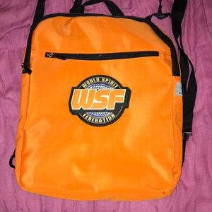 Orange WSF backpack 🎒
